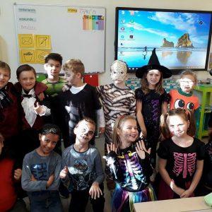 Klas 2A Halloween