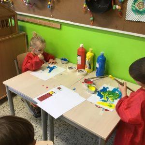 Nieuwe fotoalbums kleuterschool