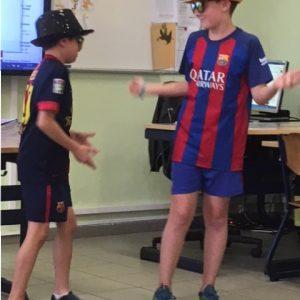 Danswedstrijd georganiseerd door onze leerlingenraad 20-04-2018