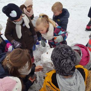 Sneeuwpret op Eltenbos
