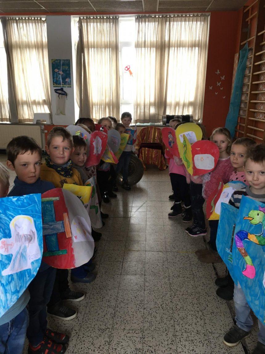 Van schildknaap tot ridder in klas C4