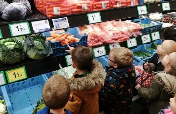 Met klas C3 naar de supermarkt