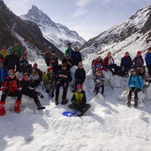 Foto's sneeuwklassen dag 3 en 4