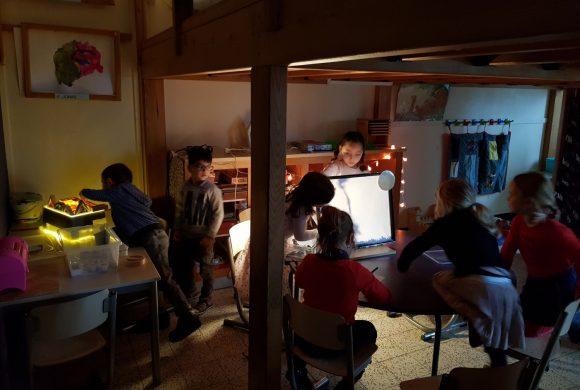 Thema 'Licht en donker' in klas C4