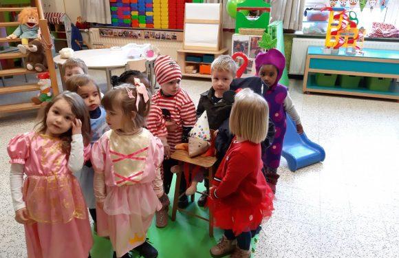 Carnaval in klas C2