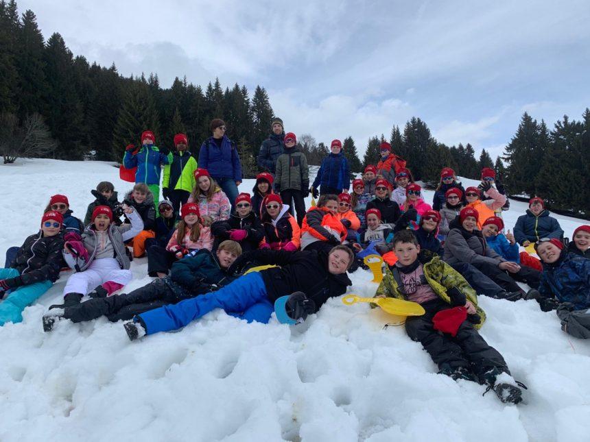 Onze sneeuwklassers op dag 1 en 2