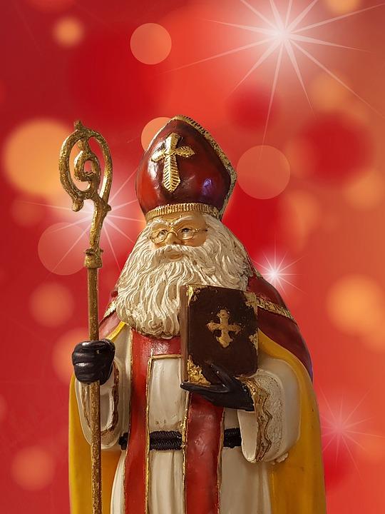 Dag Sinterklaasje, dag, dag, zwarte piet
